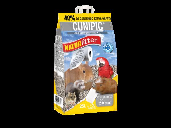 Lecho de papel ecológico para roedores CUNIPIC
