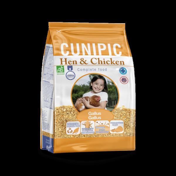 Alimento para gallina