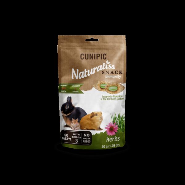 Snacks para conejos y roedores