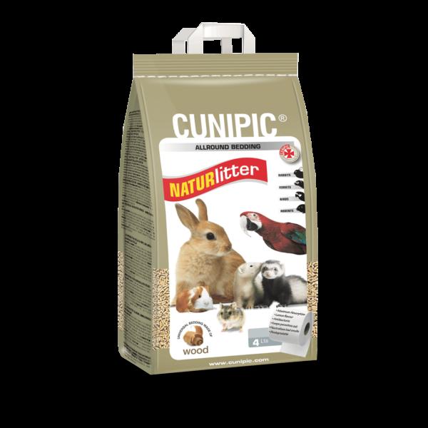 Lecho de madera para conejos y roedores